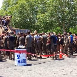 Photo Of Rugged Maniac 5k Obstacle Run   Pleasanton, CA, United States. Line