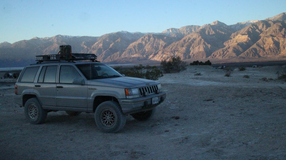My Jeep Grand Cherokee In Saline Valley Two Days After Installation