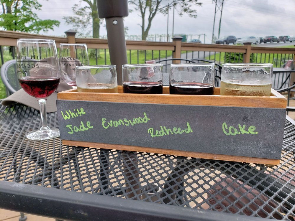 Franklin Hill Vineyards: 7833 Franklin Hill Rd, Bangor, PA