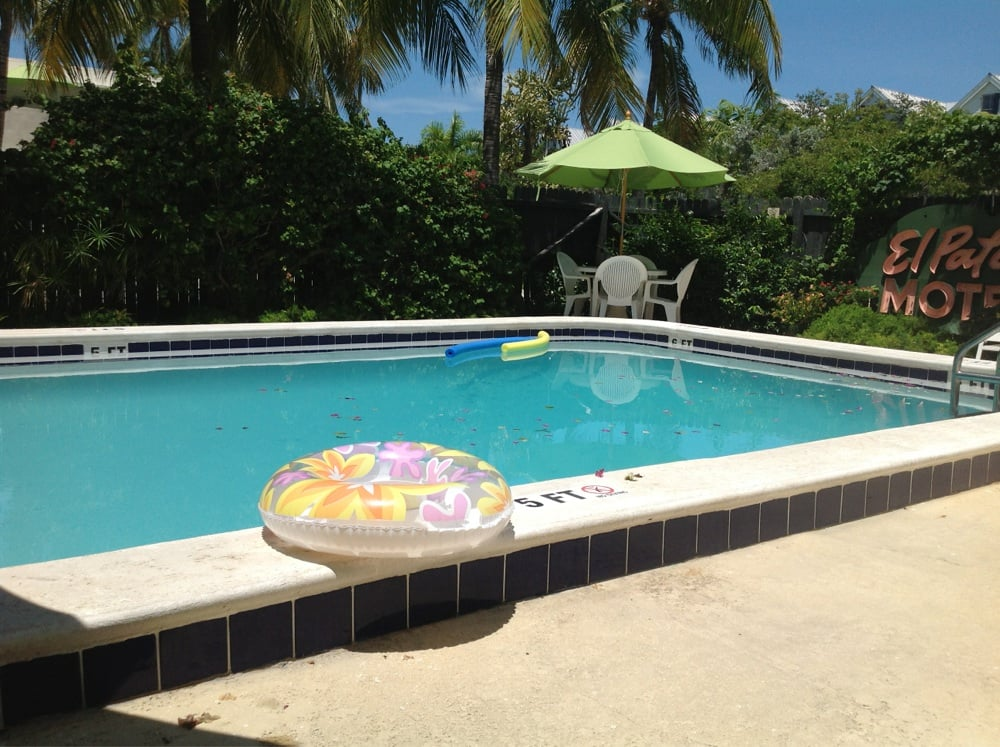 the pool and old sign yelp. Black Bedroom Furniture Sets. Home Design Ideas