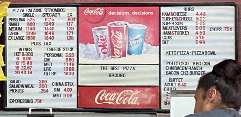 Main Street Pizza: 218 S Main St, Lockney, TX