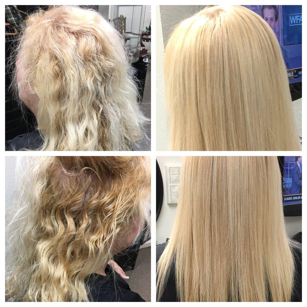 Global Keratin Treatment On Bleached Hair Yelp