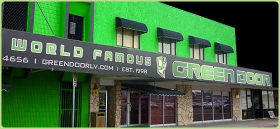 green door las vegas videos