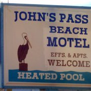 John's Pass Beach Motel Hotels 12600 Gulf Blvd, Treasure