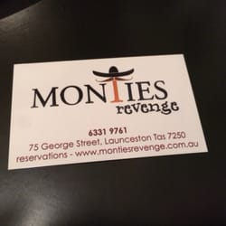 Monties revenge closed latin american 75 george st launceston photo of monties revenge launceston tasmania australia business card reheart Choice Image