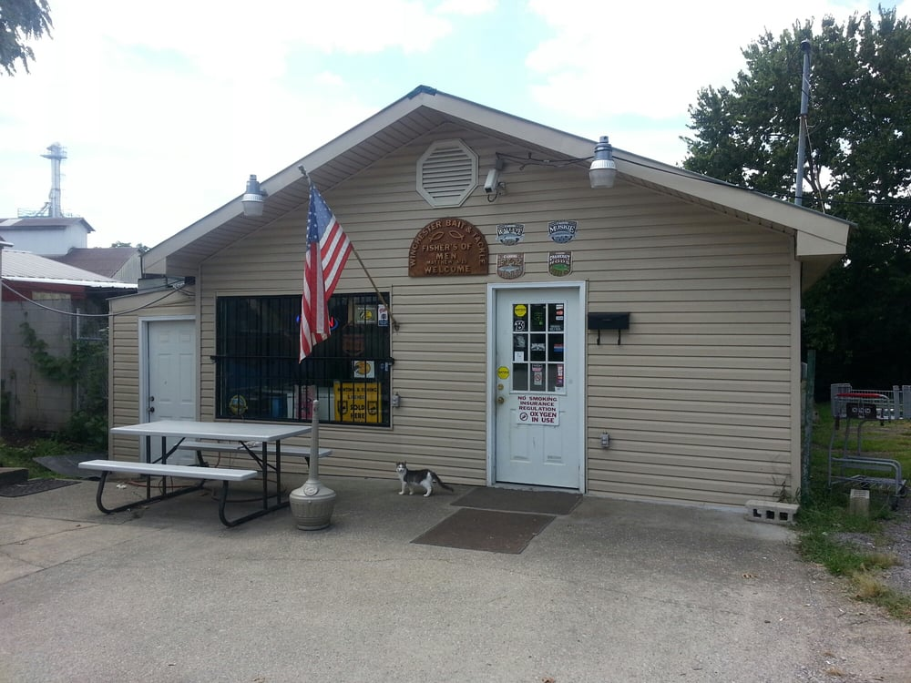 Winchester bait tackle sporting goods 3 bait st for Fishing bait stores near me