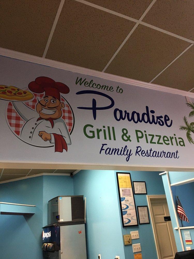 Paradise Grill & Pizzeria: 11022 Nicholas Ln, Ocean Pines, MD