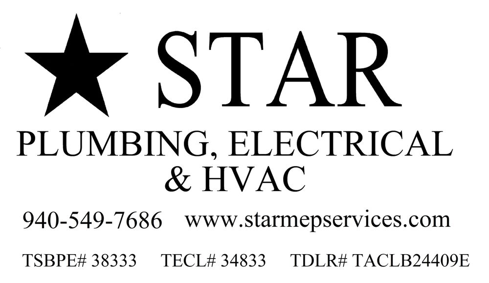 Star Plumbing and Electrical: 228 Elm St., Graham, TX