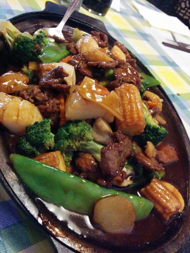 Beef and scallops yelp for Jasmine cuisine