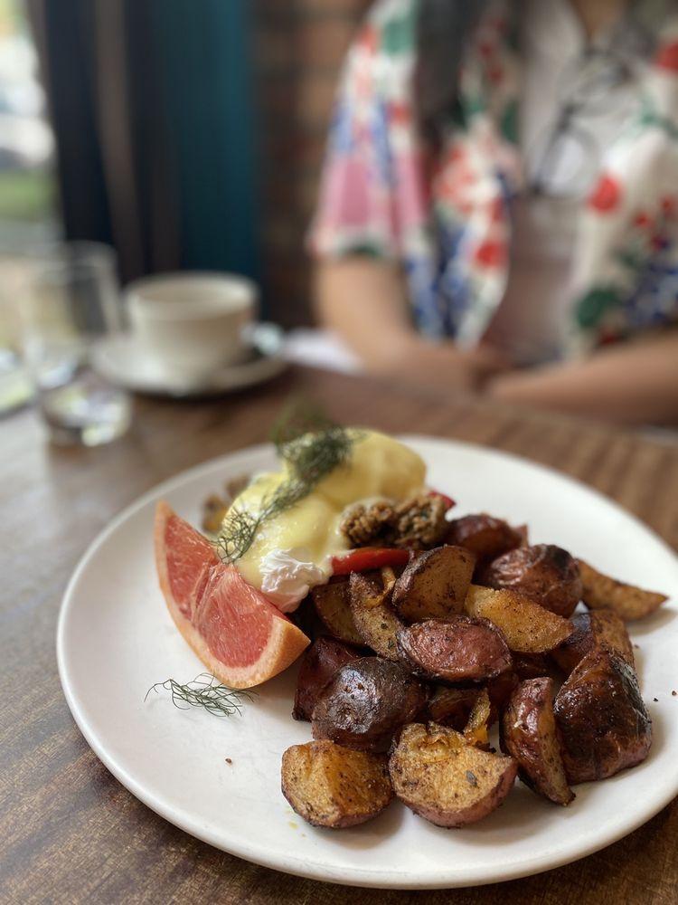 Food from Tilikum Place Cafe