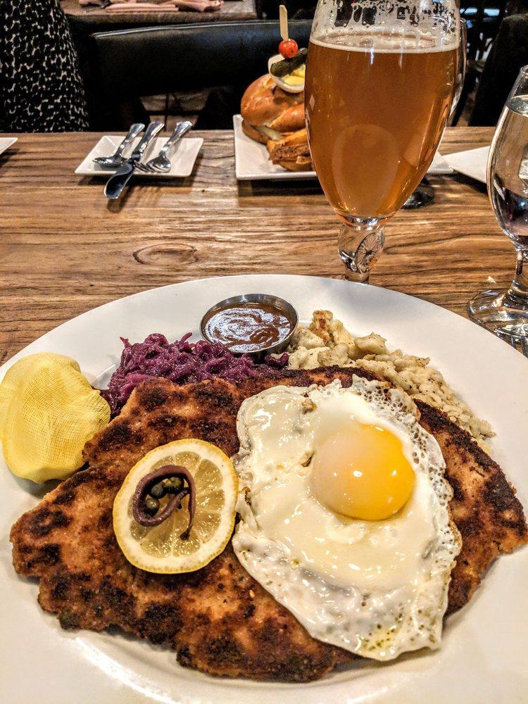 Food from Bavarian Inn