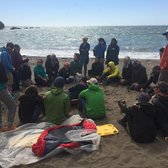 Photo of Ready SF - San Francisco, CA, United States. Debrief after a mock beach rescue.