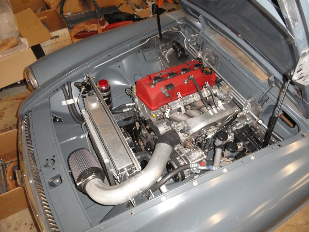 custom honda s2000 engine installation in an mgb yelp. Black Bedroom Furniture Sets. Home Design Ideas