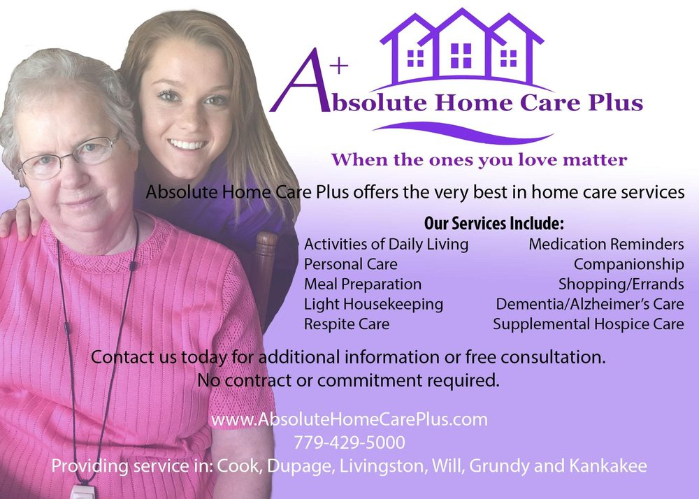 Absolute Home Care Plus: 217 N Water St, Wilmington, IL