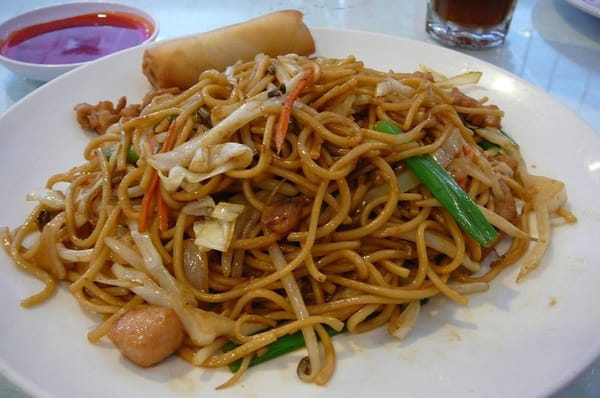 Chicken Chow Mein lunch special for $5.95 includes soup ...