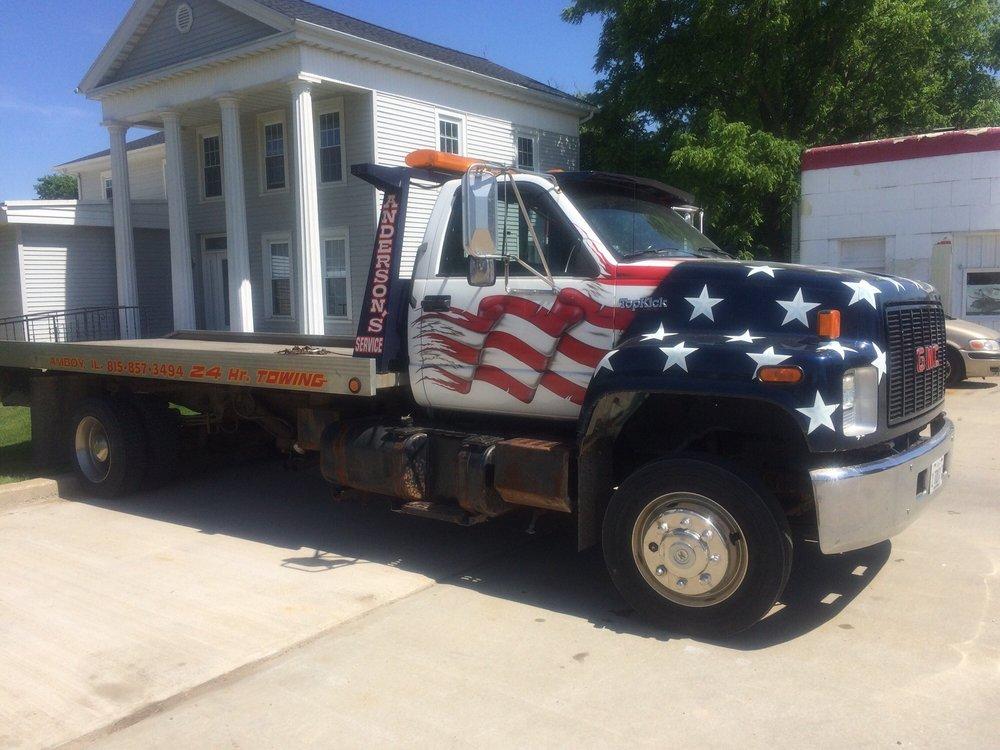 Anderson Service: 105 S Mason Ave, Amboy, IL