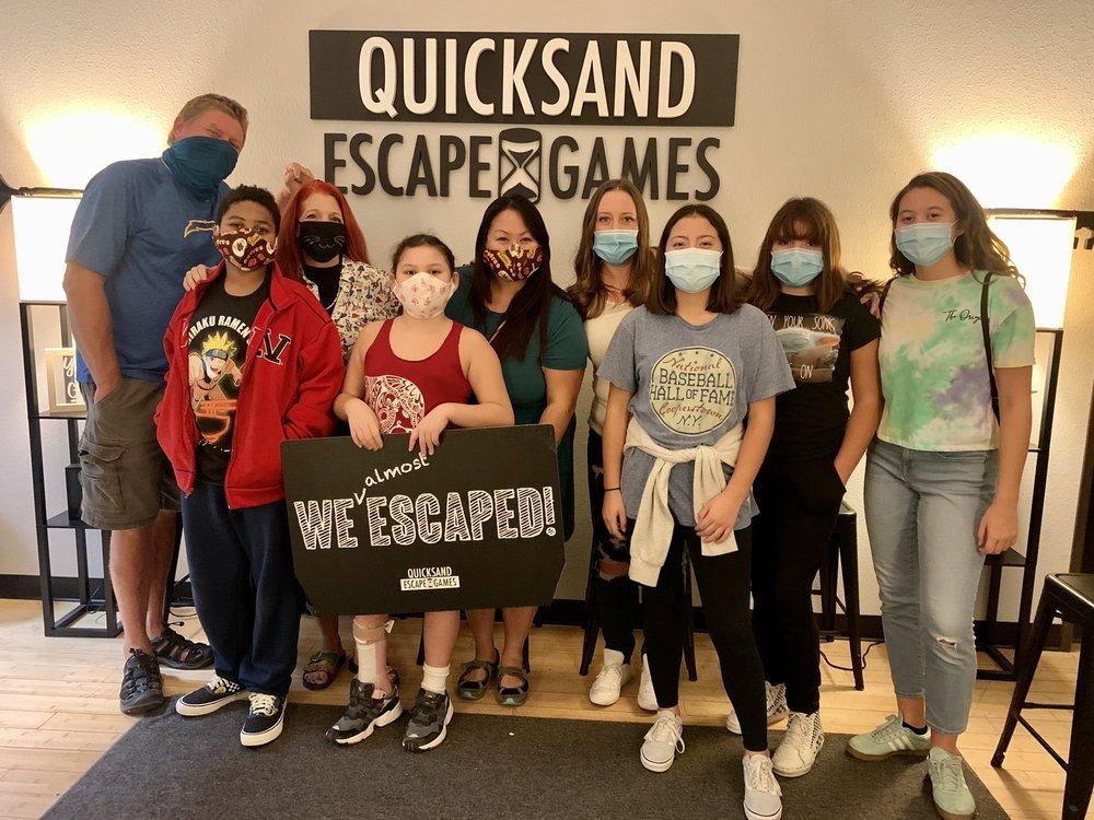 Quicksand Escape Games