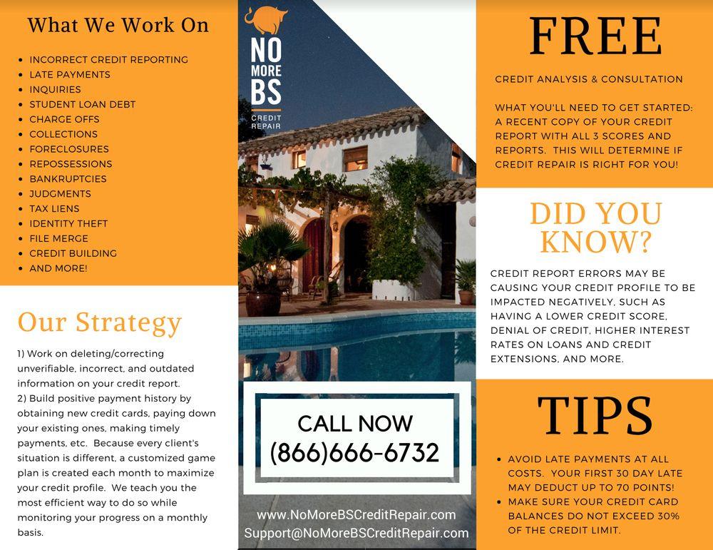No More BS Credit Repair: Bayport, NY