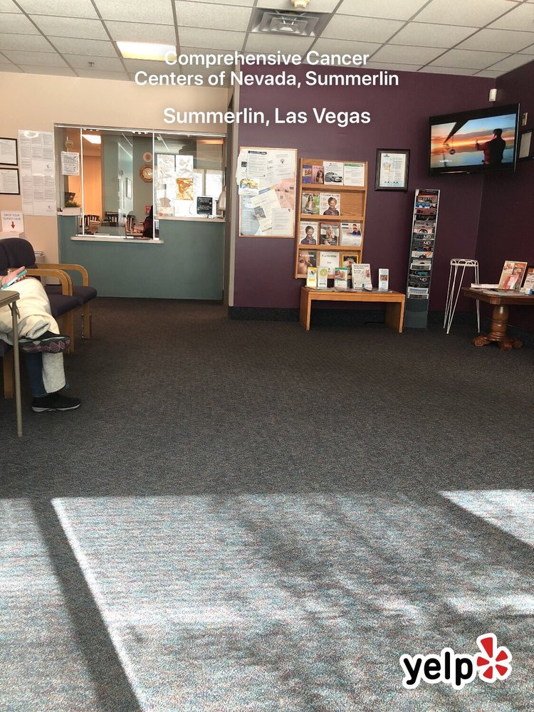 Comprehensive Cancer Centers Of Nevada Summerlin Doctors 655 N Town Center Dr Las Vegas Nv Phone Number Yelp