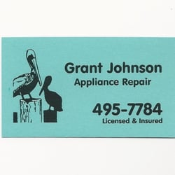 Grant Johnson Appliance Repair Appliances Amp Repair