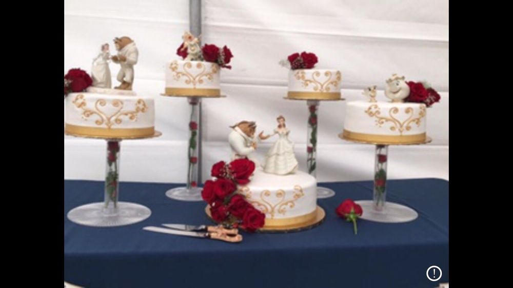 Beauty And The Beast Wedding Cake.Our Amazing Wedding Cake Beauty And The Beast Theme They Did An