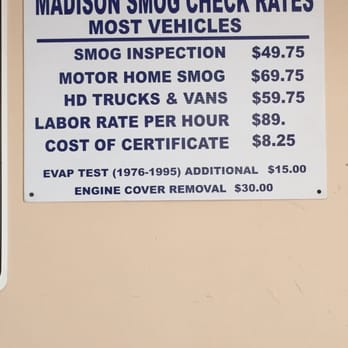 Smog Check Prices Near Me >> Madison Smog Check 2019 All You Need To Know Before You Go With