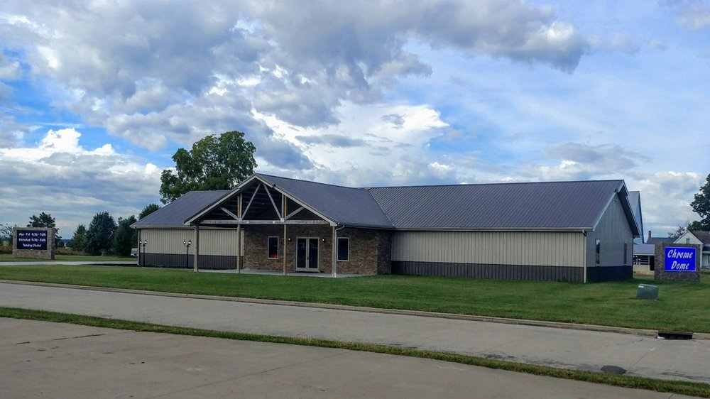 Chrome Dome: 12573 S Northgate Dr, Haubstadt, IN