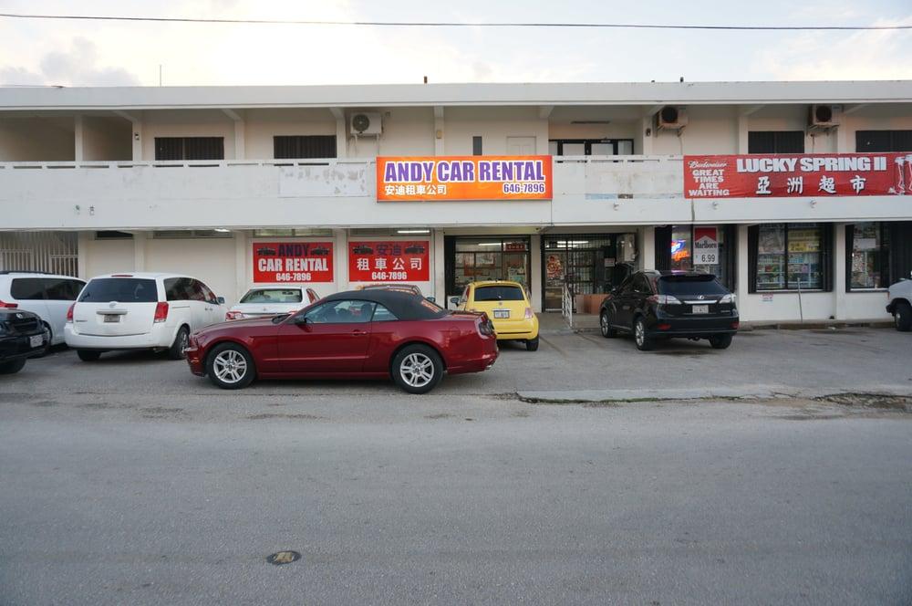 Dans Car Rental Guam