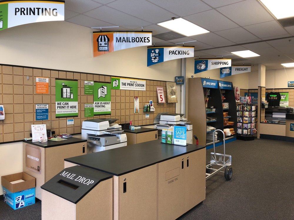The UPS Store: 1404 N Azusa Ave, Covina, CA