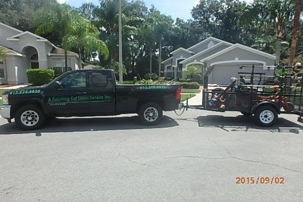 Photo of A Finishing Cut Lawn Service: Dover, FL