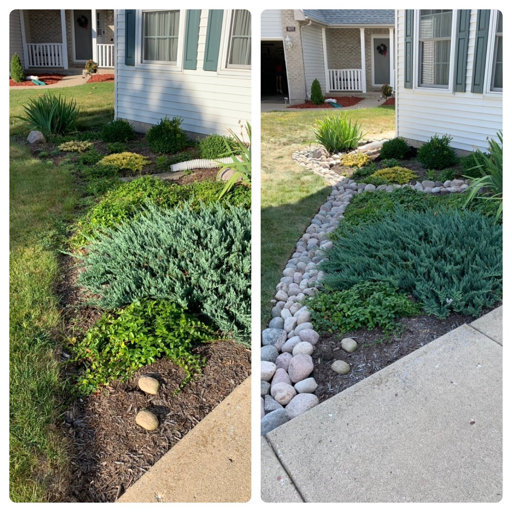 Flagstone Views Landscaping: 401 W Washington St, Harvard, IL