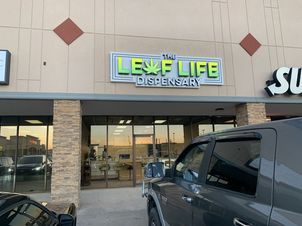 The Leaf Life Dispensary: 234 N Mustang Rd, Mustang, OK