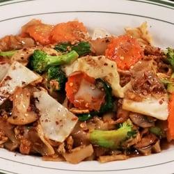 Photo Of Celadon Thai Restaurant   Latham, NY, United States. Pad See Ew