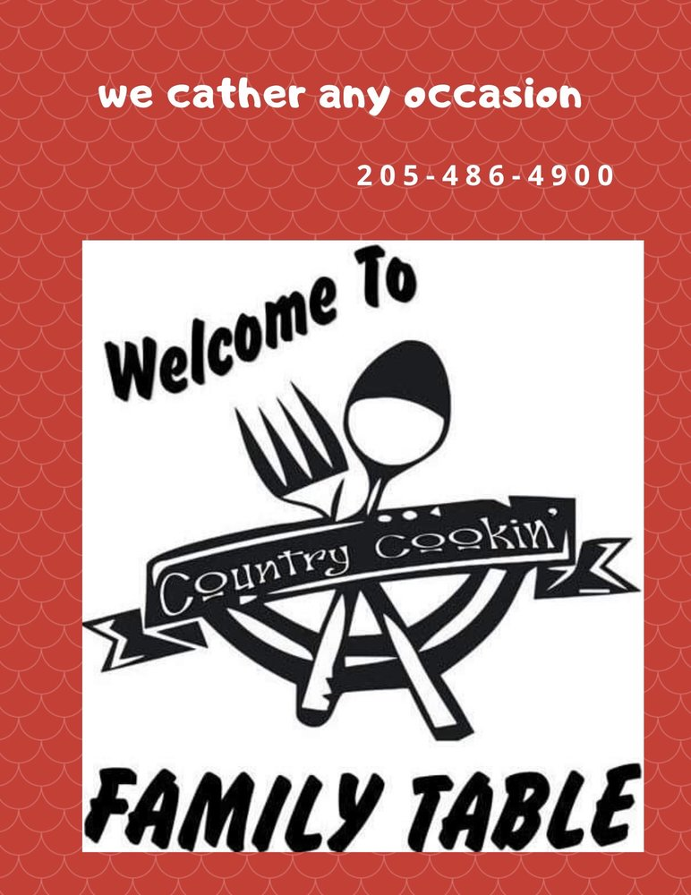 Family Table: 405 Hwy 13, Haleyville, AL