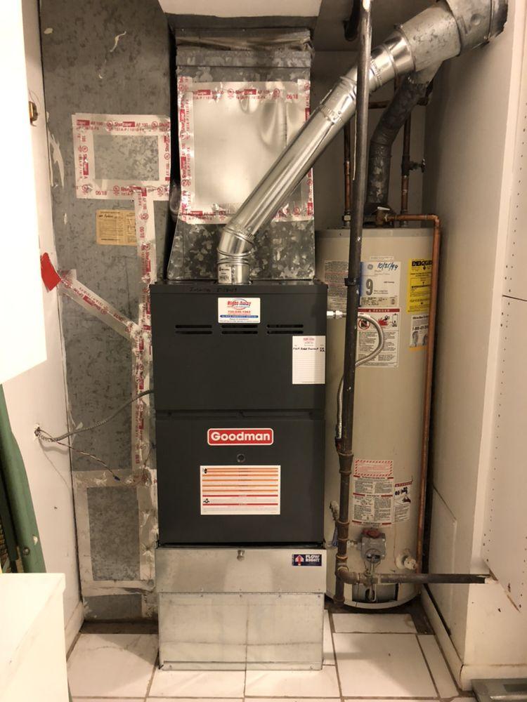 Right Away Heating: 121 E Maple Ave, Denver, CO