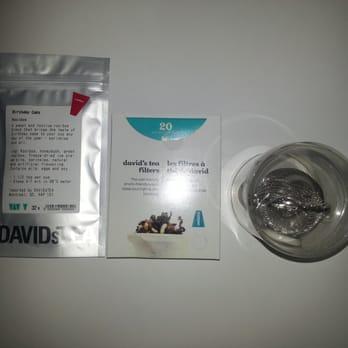 David S Tea Reviews Birthday Cake