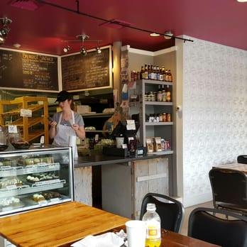 Photo Of Half Baked Cafe Bakery Beverly Ma United States Counter
