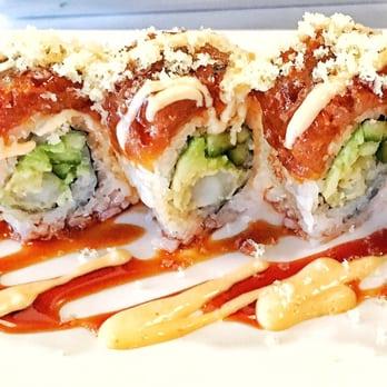 Blue fish sushi bar asian cuisine last updated june 11 for Jordan s fish and chicken menu