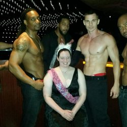 Females with male strippers