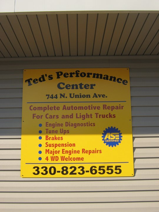 Ted's Performance Center: 744 N Union Ave, Alliance, OH