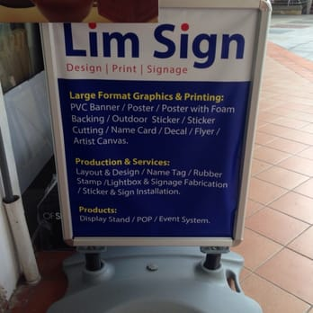 Photo of lim sign singapore singapore what they specialise in