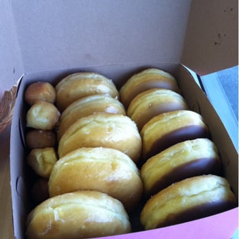 33cbba050 Photo of Fails Donut Factory - Turlock, CA, United States. Box of glazed