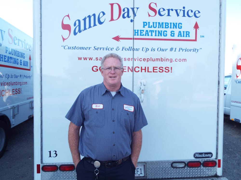 Same Day Service Plumbing, Heating & Air Inc.: 8322 Tubbs Rd, Winters, CA