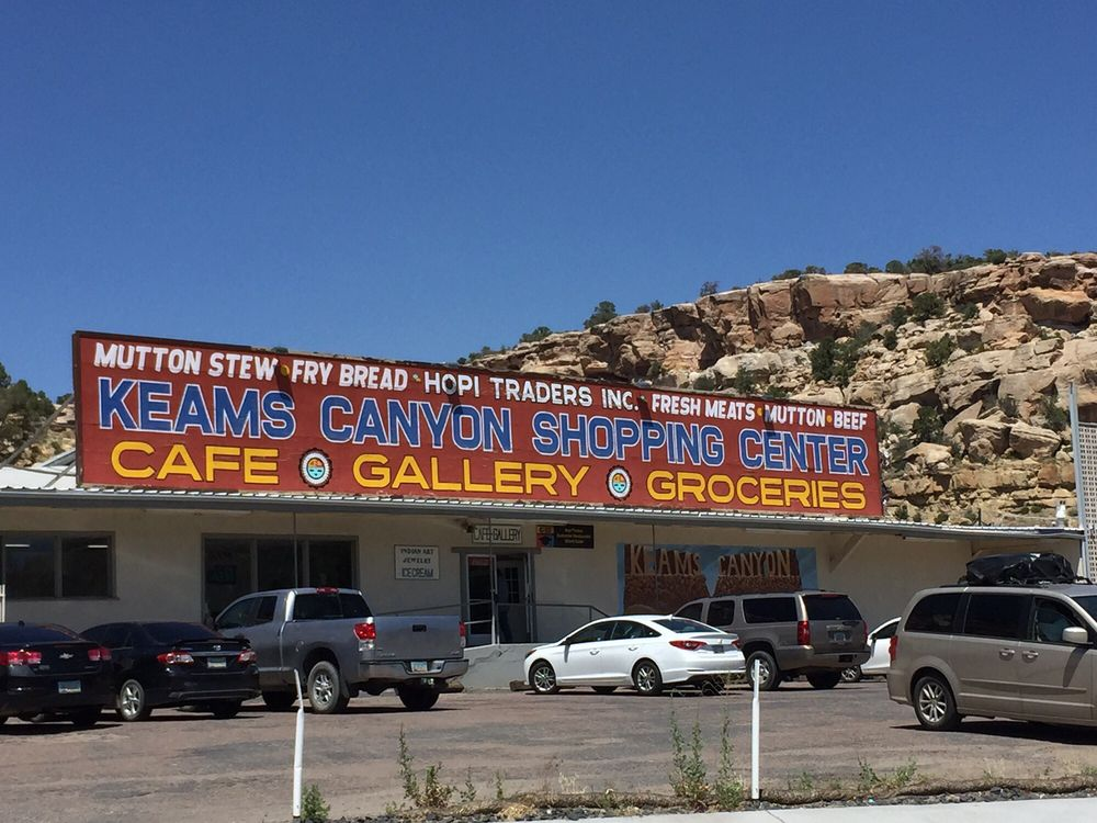 Keams Canyon Shopping Center: 76 Food Mart, Keams Canyon, AZ