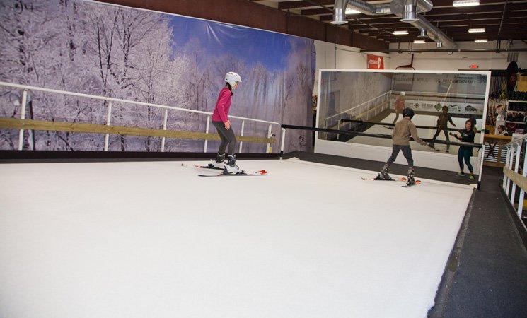 Inside Ski Training Center: 34-B Catoctin Cir SE, Leesburg, VA
