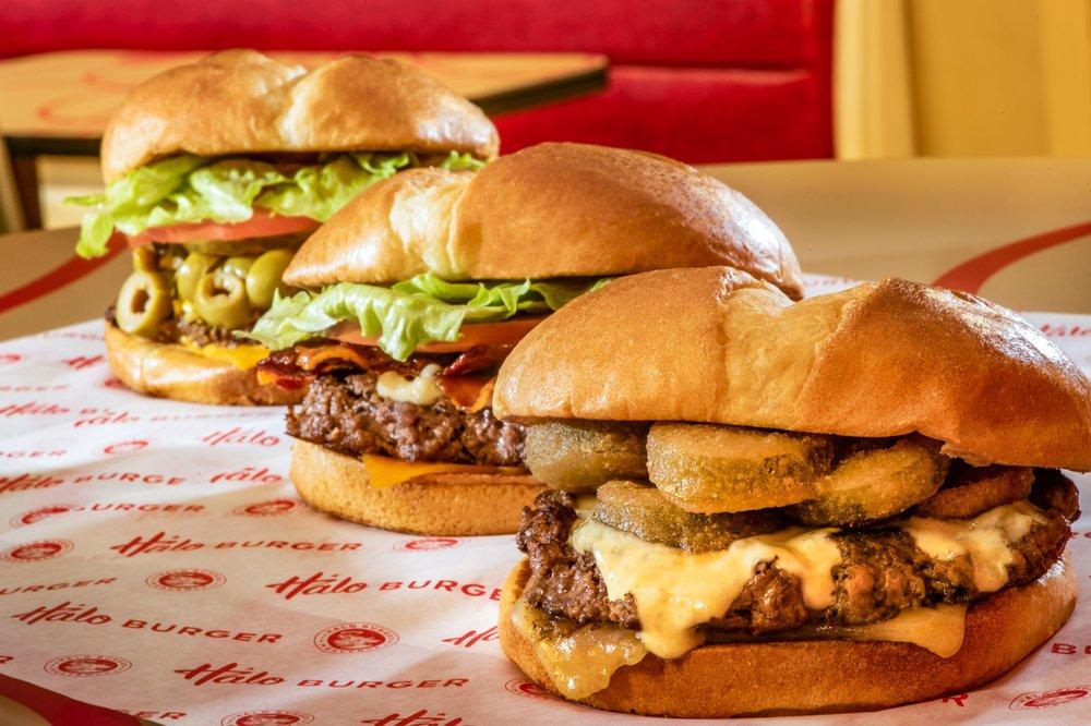 Halo Burger: 9130 E Birch Run Rd, Birch Run, MI