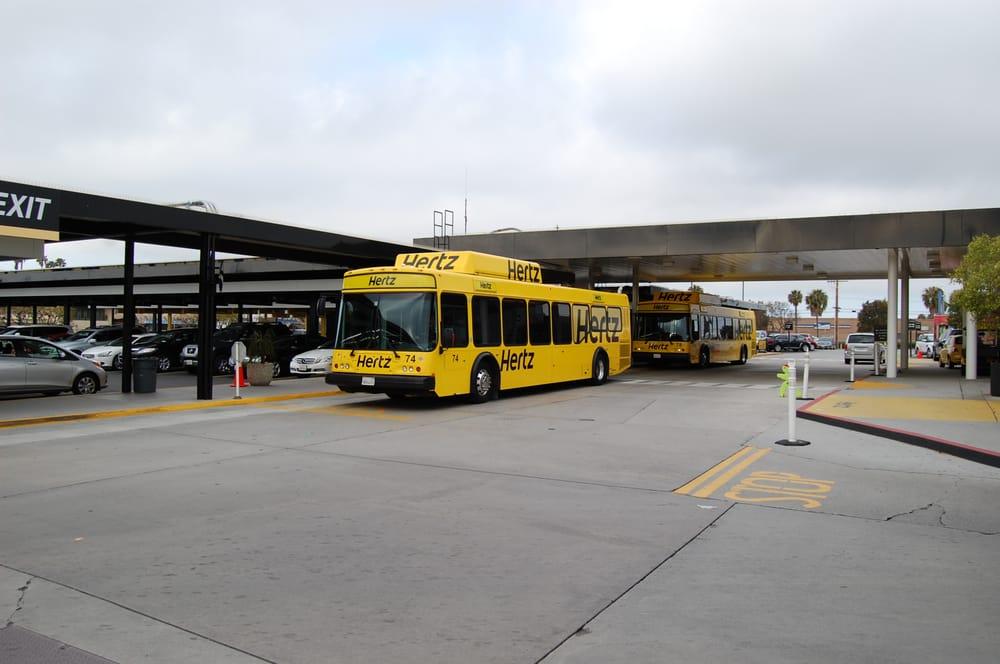 Hertz car rental los angeles airport 14
