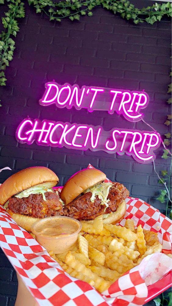 Habibi's Hot Chicken: 1311 S Grand Ave, Glendora, CA
