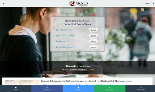 Barnes Real Estate School 300 NW 27th St Moore, OK Real
