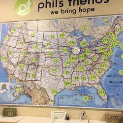 Roselle Illinois Map.Phil S Friends Community Service Non Profit 1350 Lake St